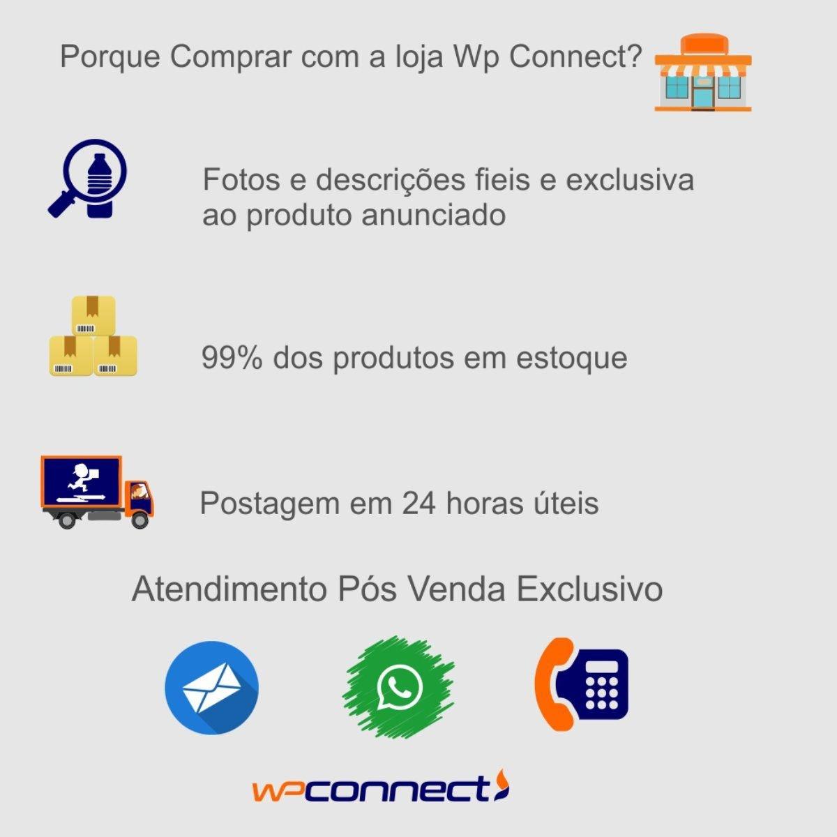 Caixa Organizadora Com 6 Divisões Multiuso - Wp Connect