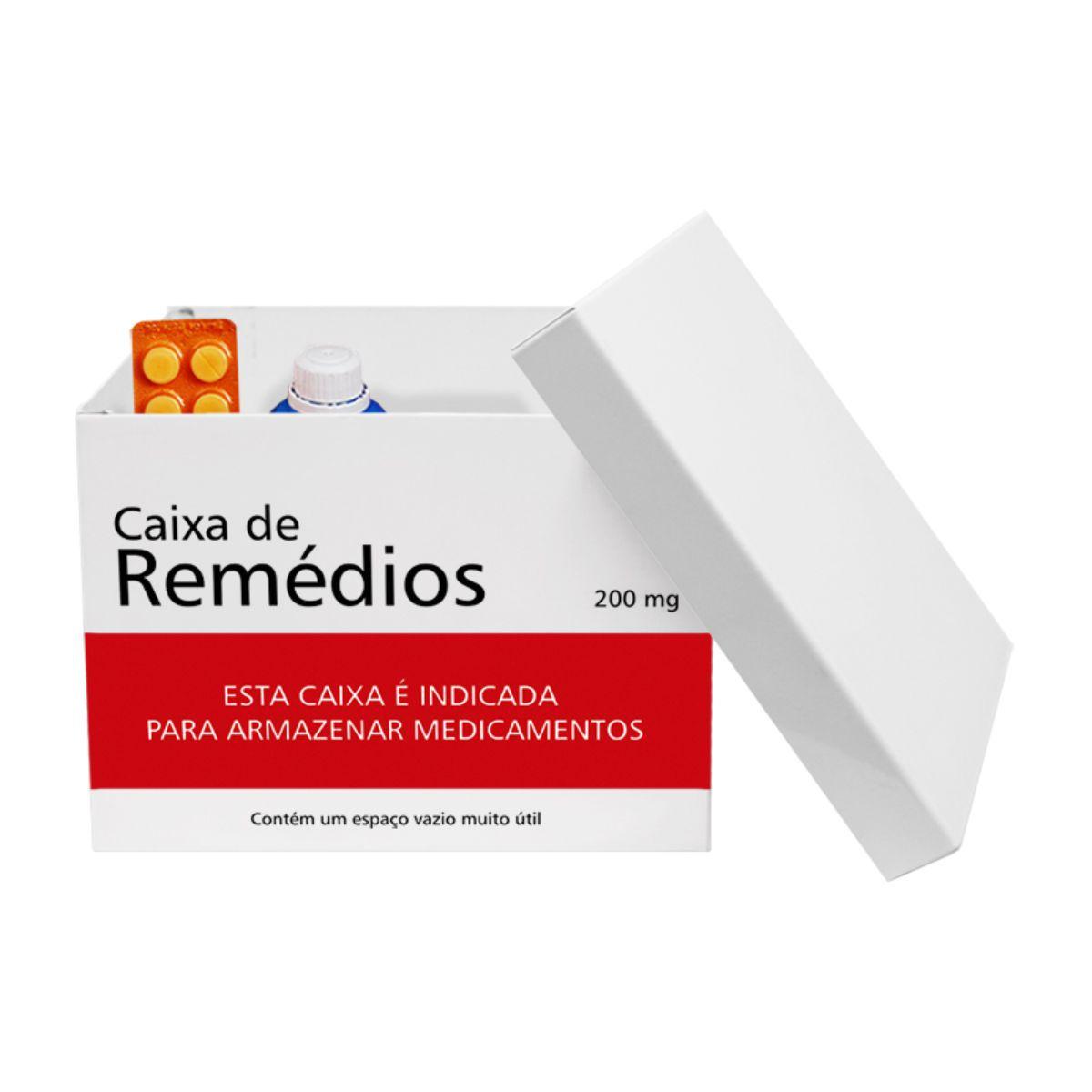 Caixa Organizadora de Remédios Porta Medicamentos