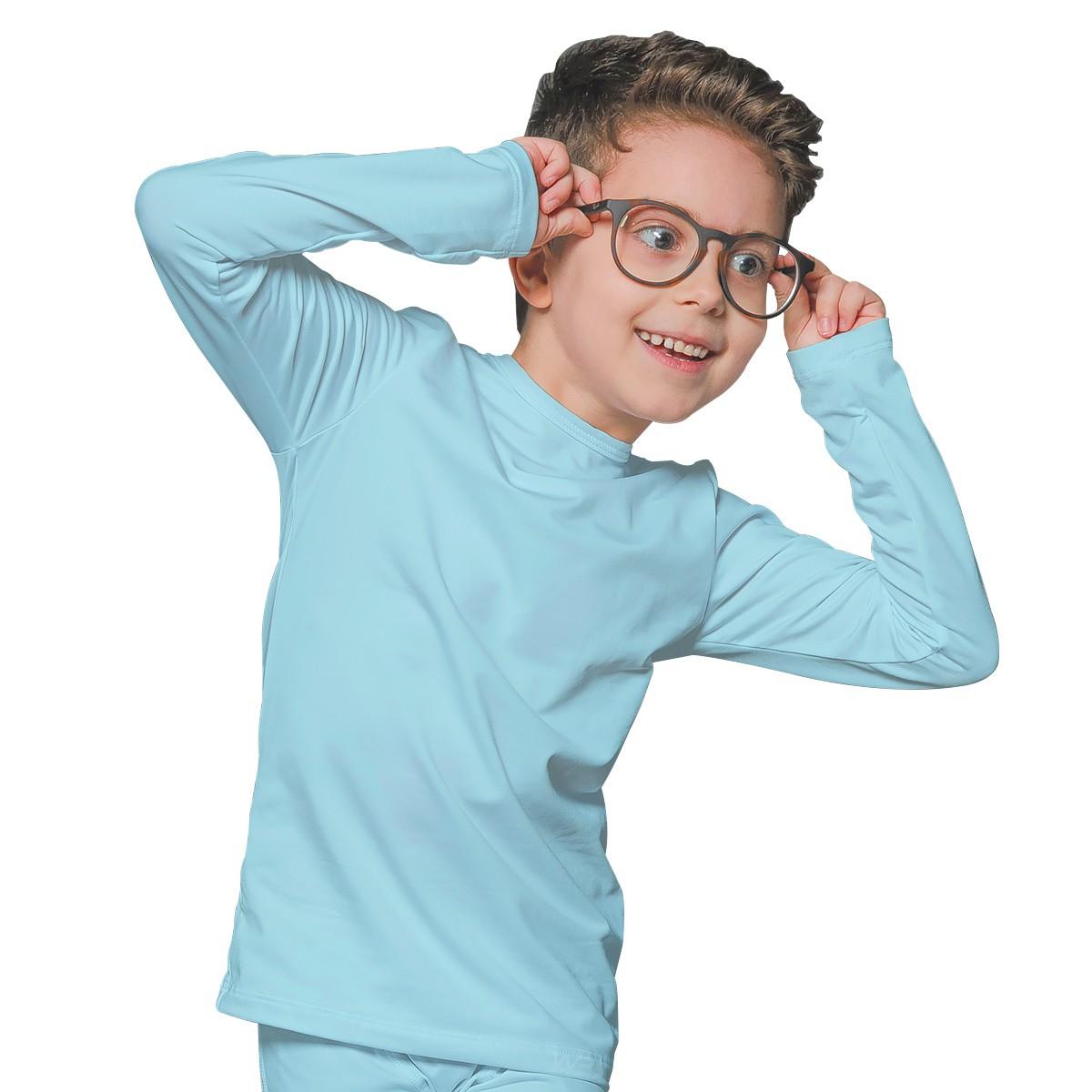 Camiseta Térmica Infantil Unissex Segunda Pele Menino Menina