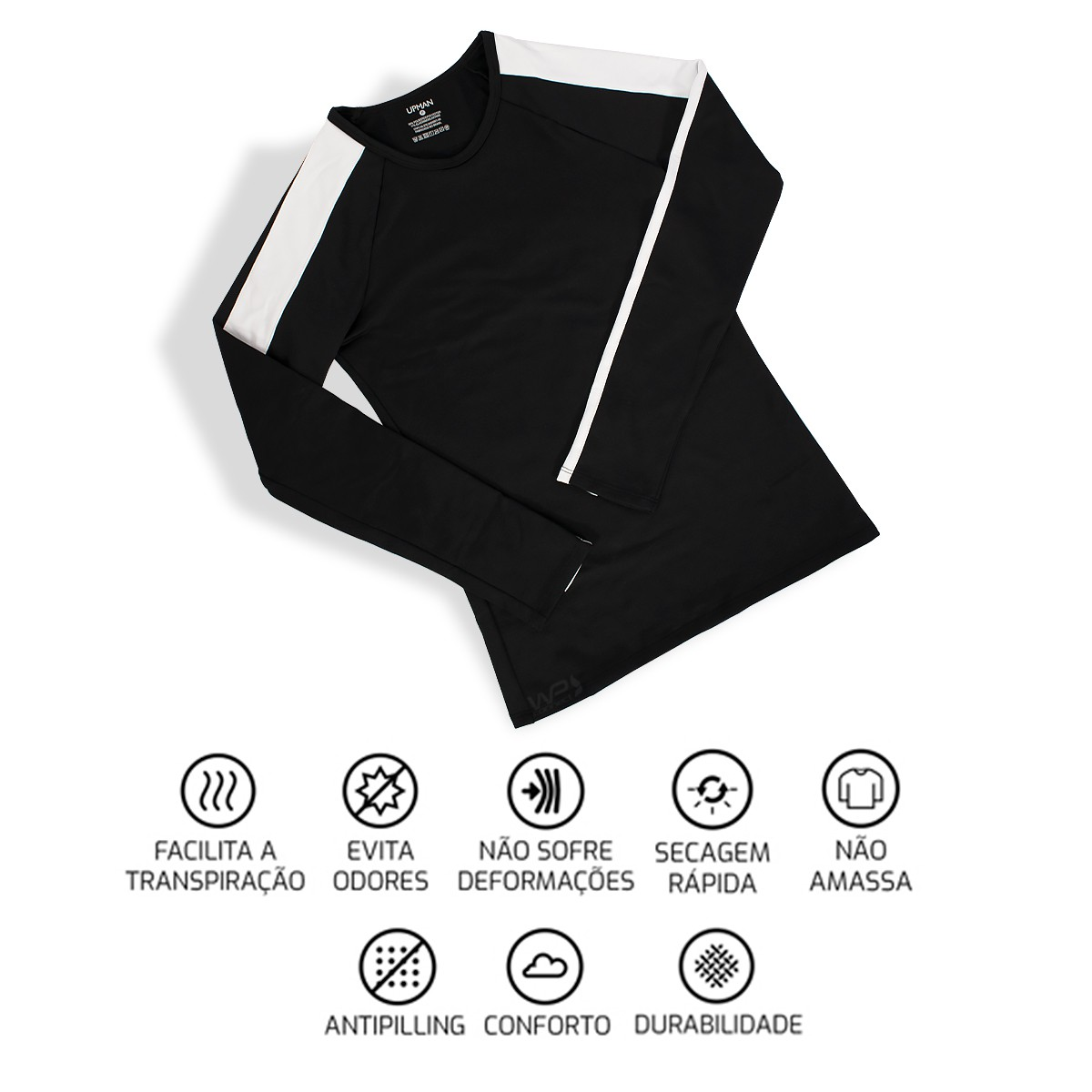 Camiseta Térmica Feminina Raglan Thermo Power Academia