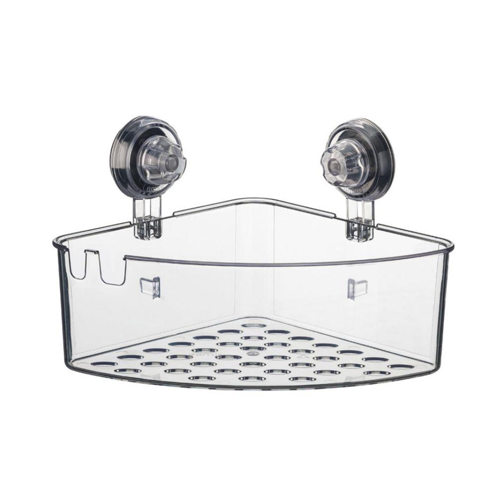 Cantoneira Multiuso Shampoo Fixação Ventosa em ABS - Incolor