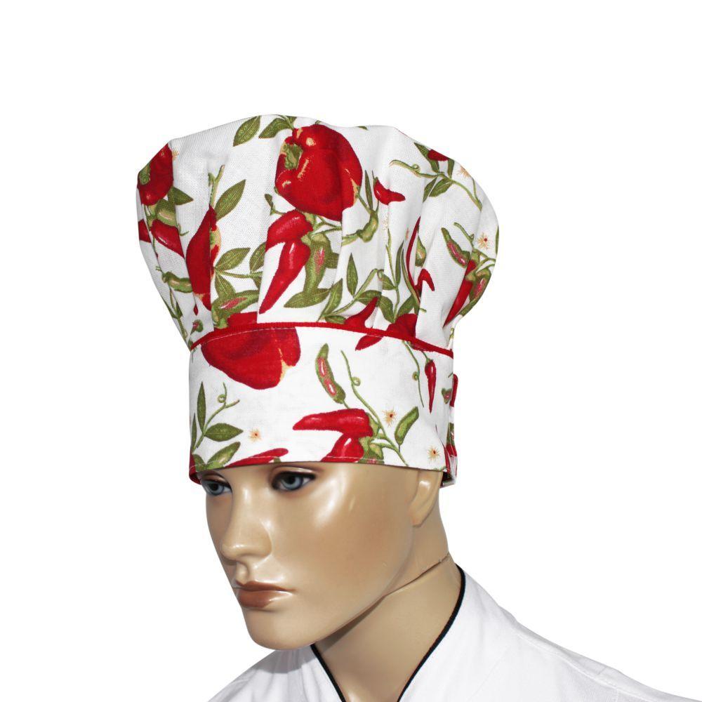 Chapéu Confeitaria Mestre Cuca Chef de Cozinha - Pimentinha