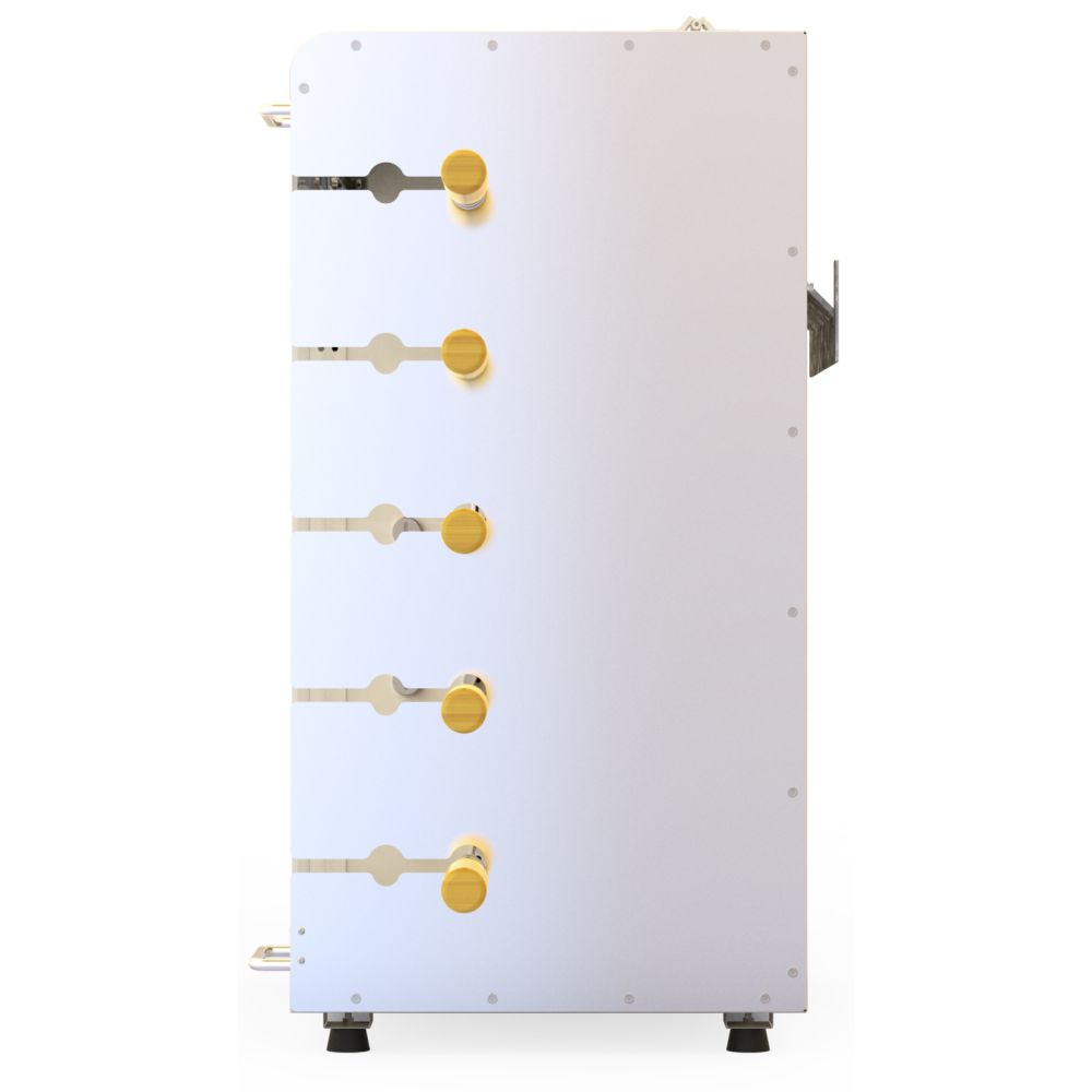 Churrasqueira a Gás Rotativa 5 espetos Acendimento Automático -  Champagne