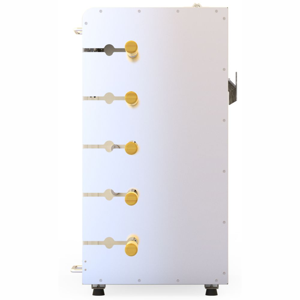 Churrasqueira Gás Rotativa 5 espetos Acendimento Automático e Rechaud -  Champagne