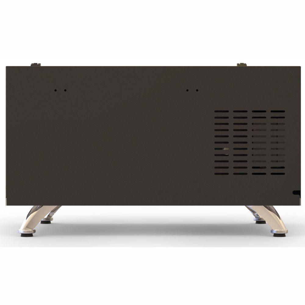 Churrasqueira Elétrica Horizontal de 5 espetos - Preta