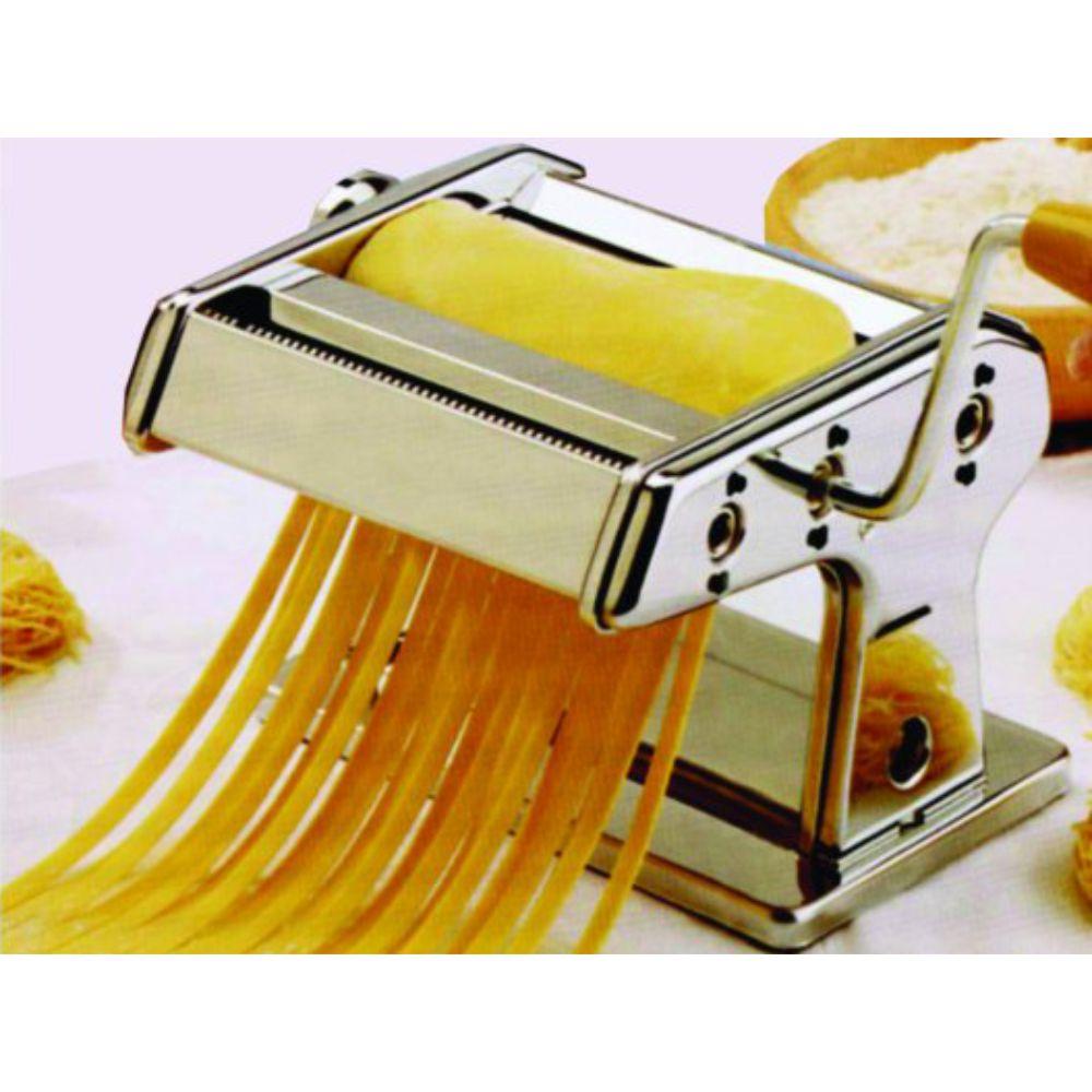 Cilindro Em Aço Cromado Laterais em Nylon  Buona Pasta  Maker - 14,5 cm