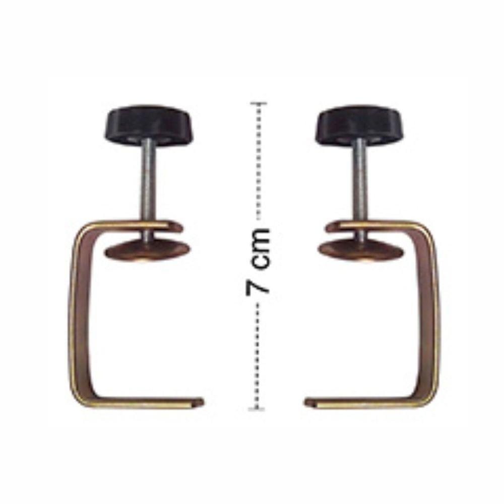 Cilindro Em Aço Cromado Laterais Em Nylon Super Doro - 35 cm