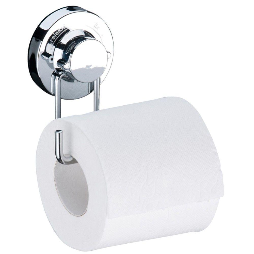 Conjunto Banheiro 3 Peças Fixação Por Ventosa - Cromado
