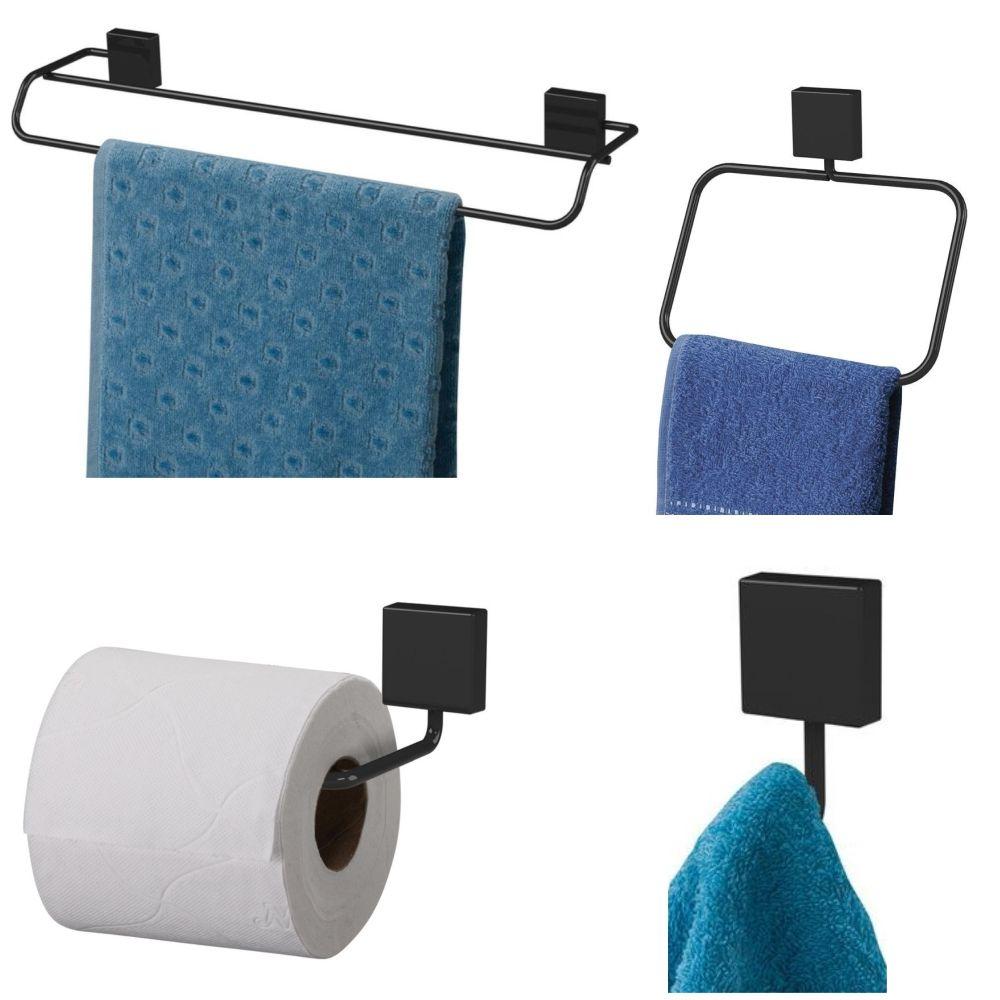 Conjunto de Acessórios Para banheiro 4 peças