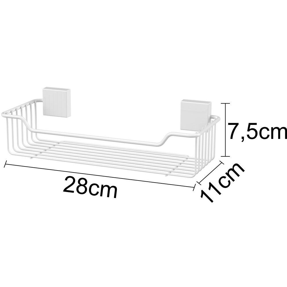 Conjunto Fixação Parafuso para Banheiro 6 Peças - Branco