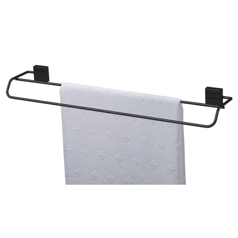 Conjunto Future 5 Peças Preto Fixação Parafuso Banheiro