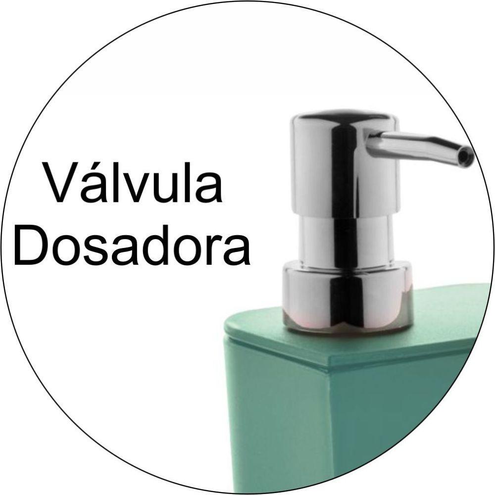 Conjunto Organização Cozinha Dispenser Detergente C/ Lixeira