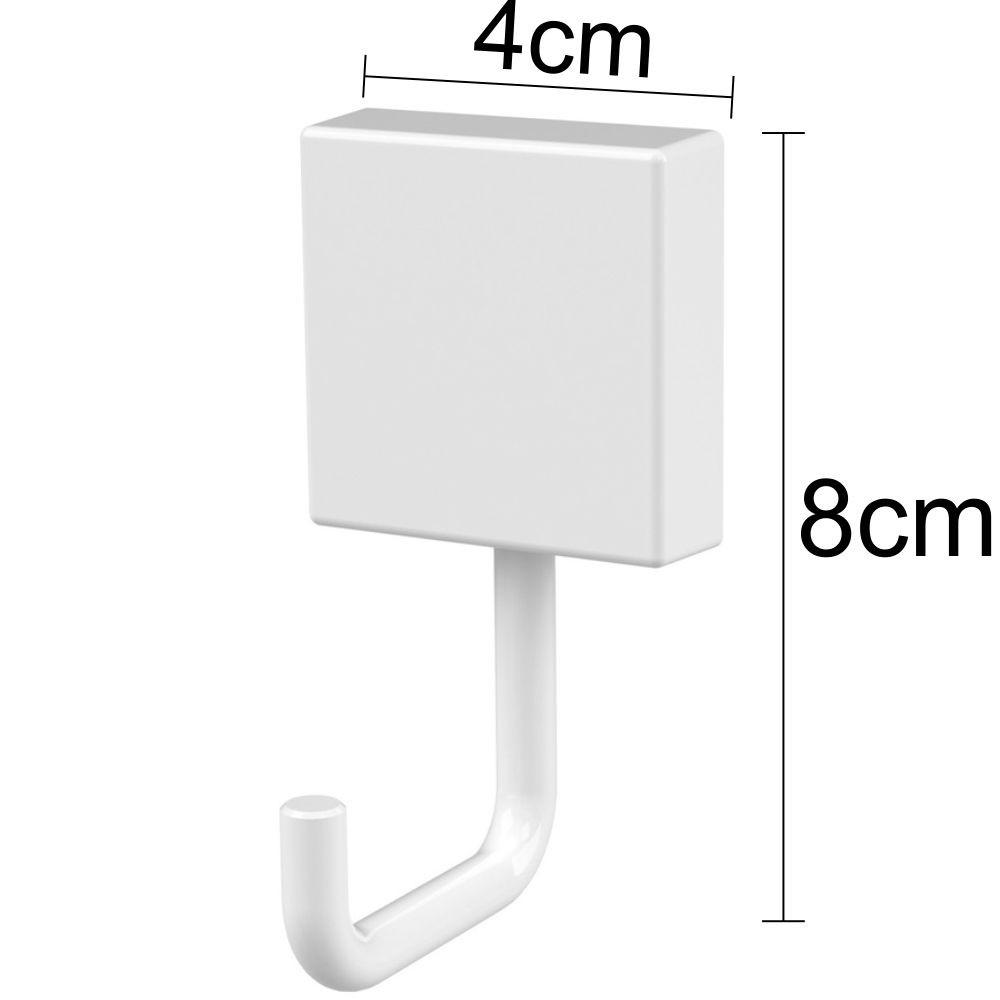 Conjunto Organizadores de Banheiro 4 Peças Branco - Aço