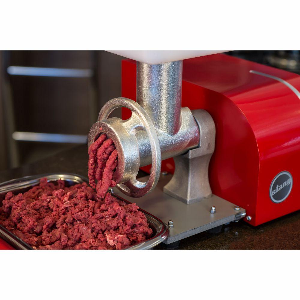 Moedor E Extrusor De Carne Elétrico - Vermelho