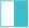 Branco/Azul Turquesa