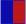 azul / vermelho