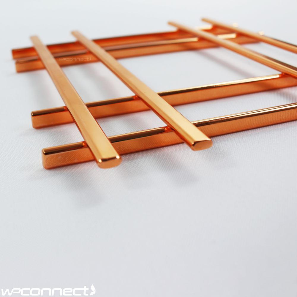 Descanso Para Panelas e Travessas de Mesa Cobre - Rosé Gold