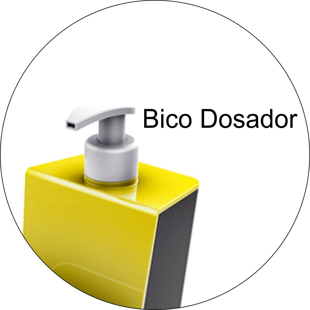 Dispenser Dosador de Detergente Escorredor Porta Talheres