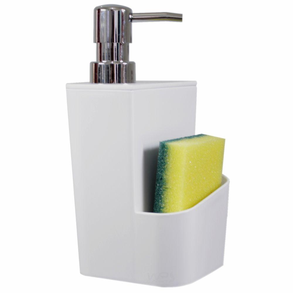 Dispenser Para Detergente 650ml Lixeira 2,5 Litros Cozinha