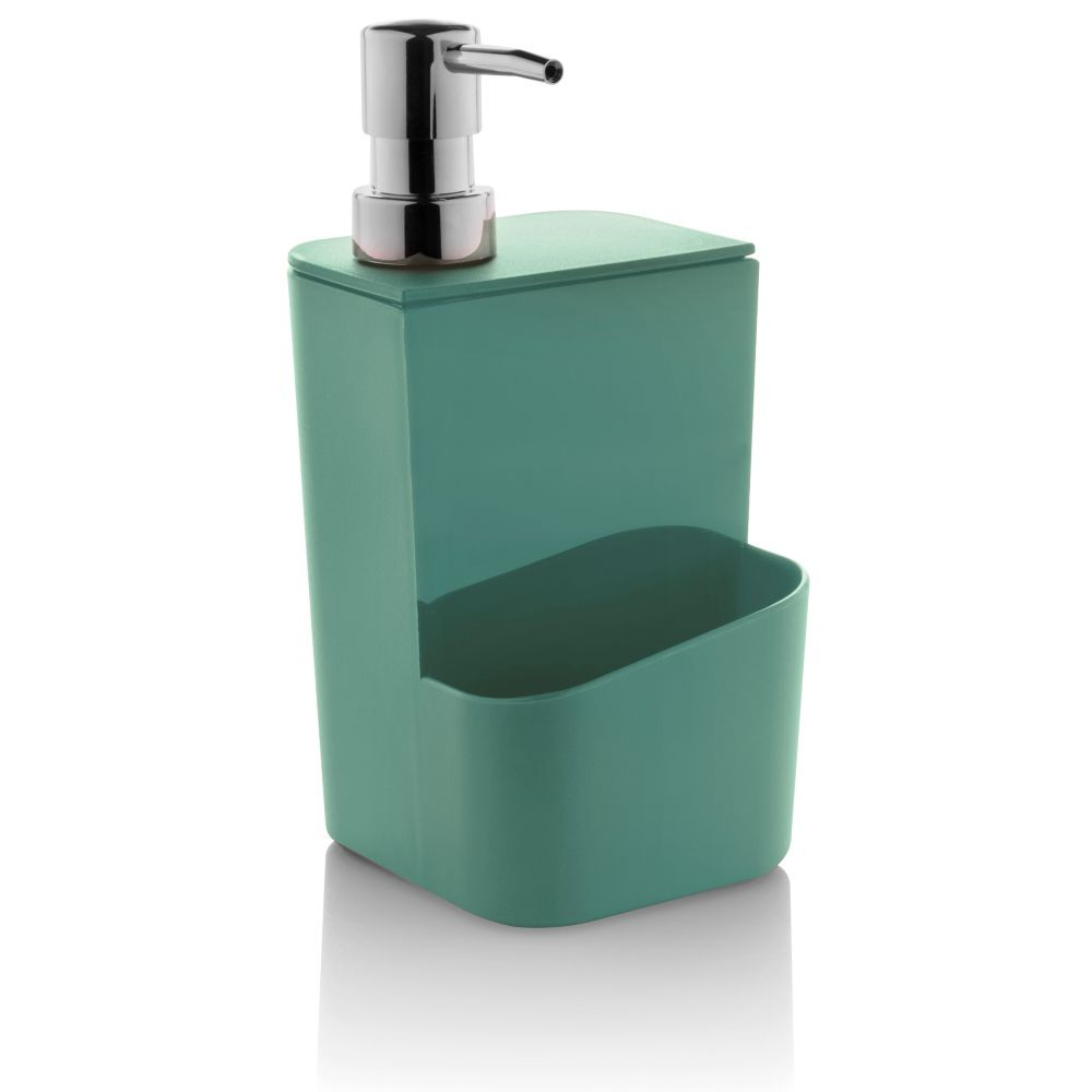 Dispenser Para Detergente e Esponja 650 ml Verde