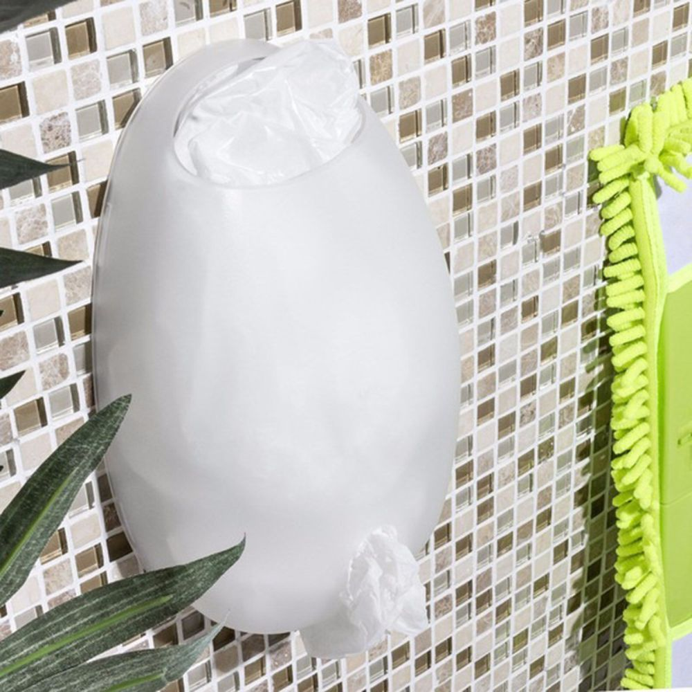 Dispenser Para Sacolas Plásticas - Branco
