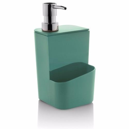 Dispenser Porta Detergente e Esponja de Mesa 650ml - Ou
