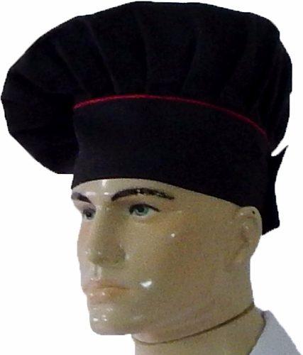 Dólmã Chef de Cozinha Tradicional + Dolmã Oxford + Chapéu Preto