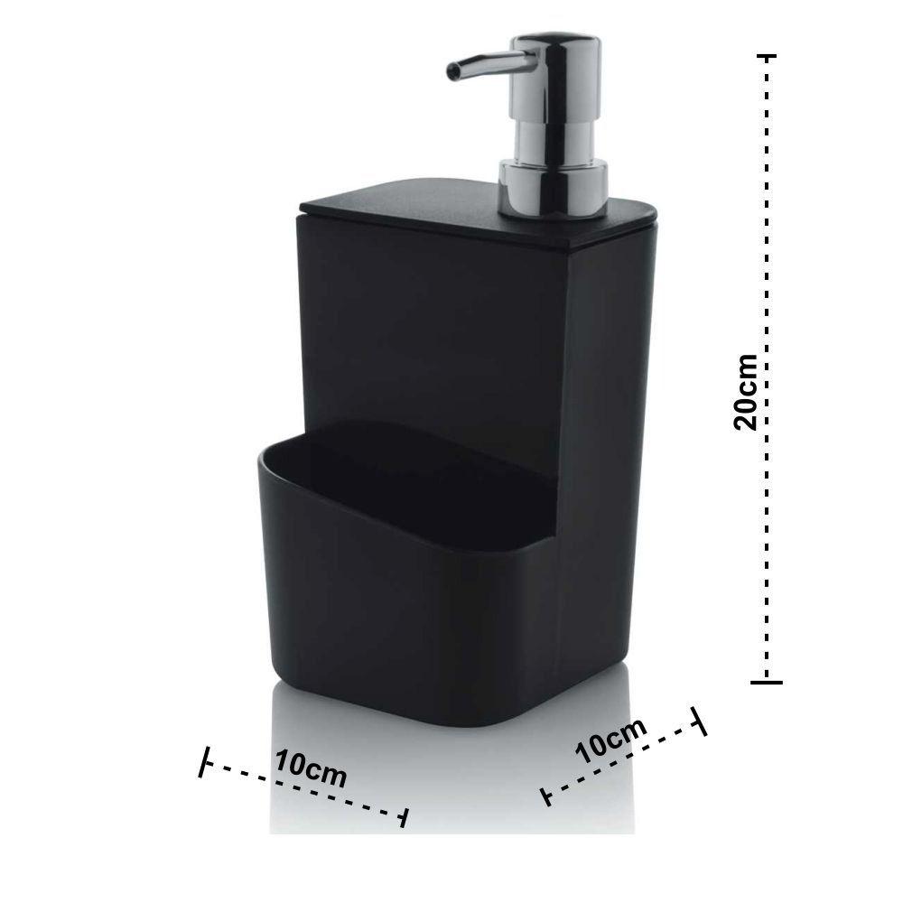 Escorredor de Louças 13 Pratos C/ Dispenser Detergente 650ml