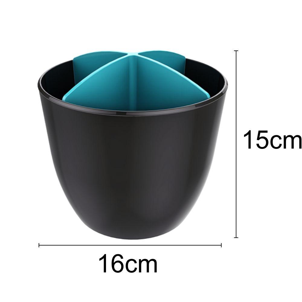 Escorredor de Talheres Para Pia ou Bancada - Cinza Chumbo/Azul