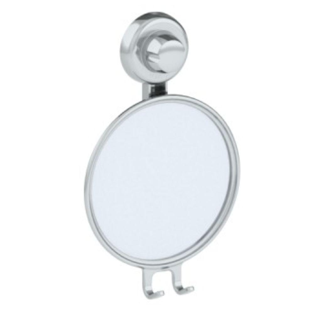 Espelho Antiembaçante Multiuso Com Ventosa - Cromado