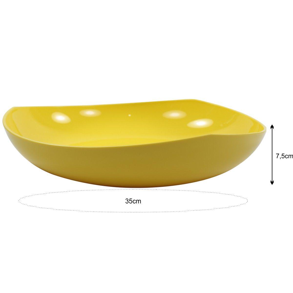 Fruteira Legumeira De Mesa 3,5L - Trio Colors
