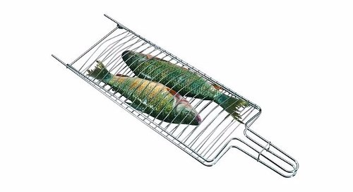 Grelha Dupla para Peixes - Grelhados