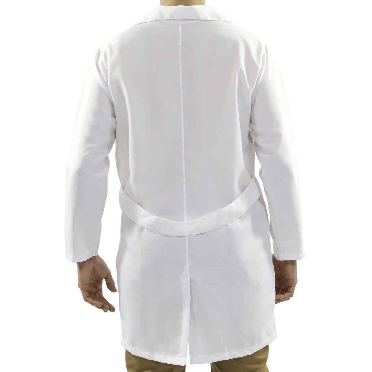 Jaleco Branco tradicional Unissex  Saúde