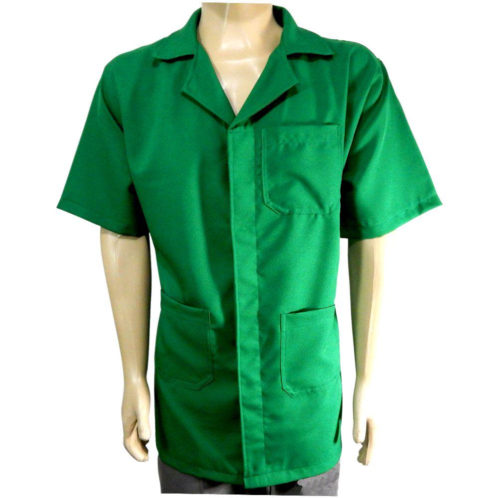 Jaleco Profissional Oxford-Verde