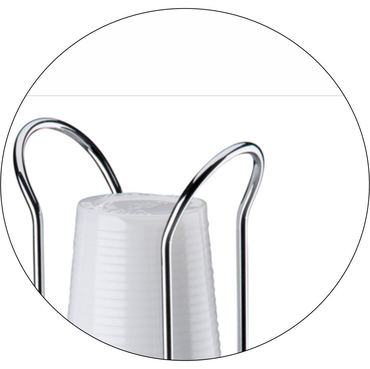 Kit 4 Porta Copos Descartáveis Água 200ml Café 50/80ml