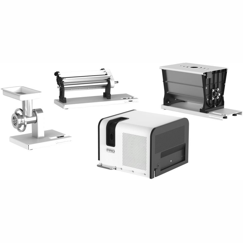kit Cilindro Profissional 3 em 1 Extrusor, laminador e Misturadeira