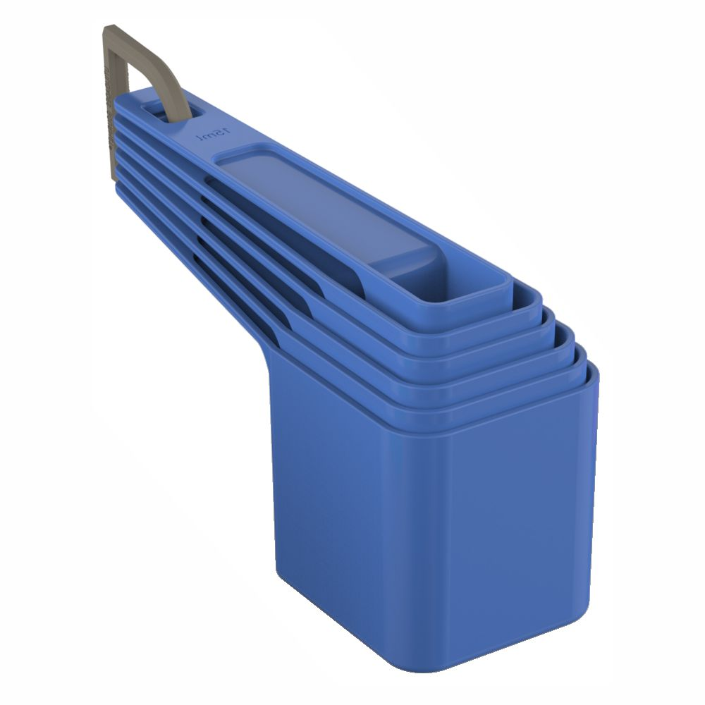 Colheres de Medida Para Cozinha Kit C/ 6 Medidores - Cores Sortidas