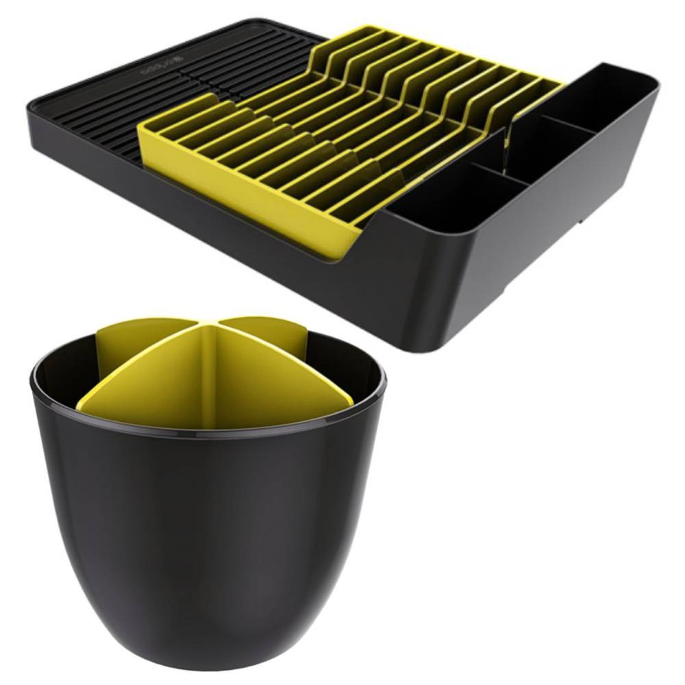 Kit Escorredor de Louças + Escorredor de Talheres Cozinha Organizada
