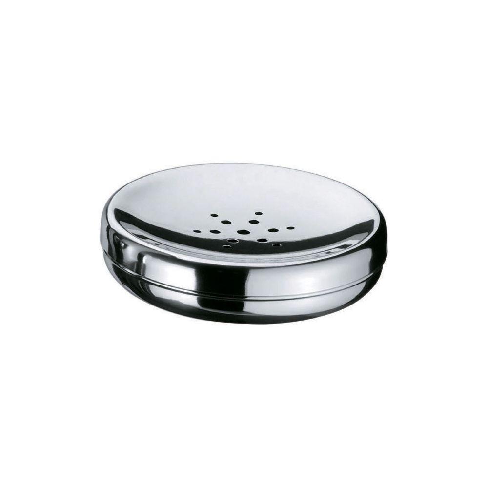 Kit Organizador P/ Banheiro Spa 4 Peças Aço Inox - Prata