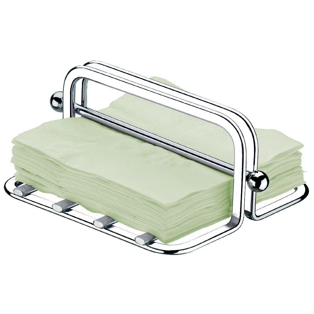 Kit   Porta Guardanapos Grandes + Dispenser Detergente