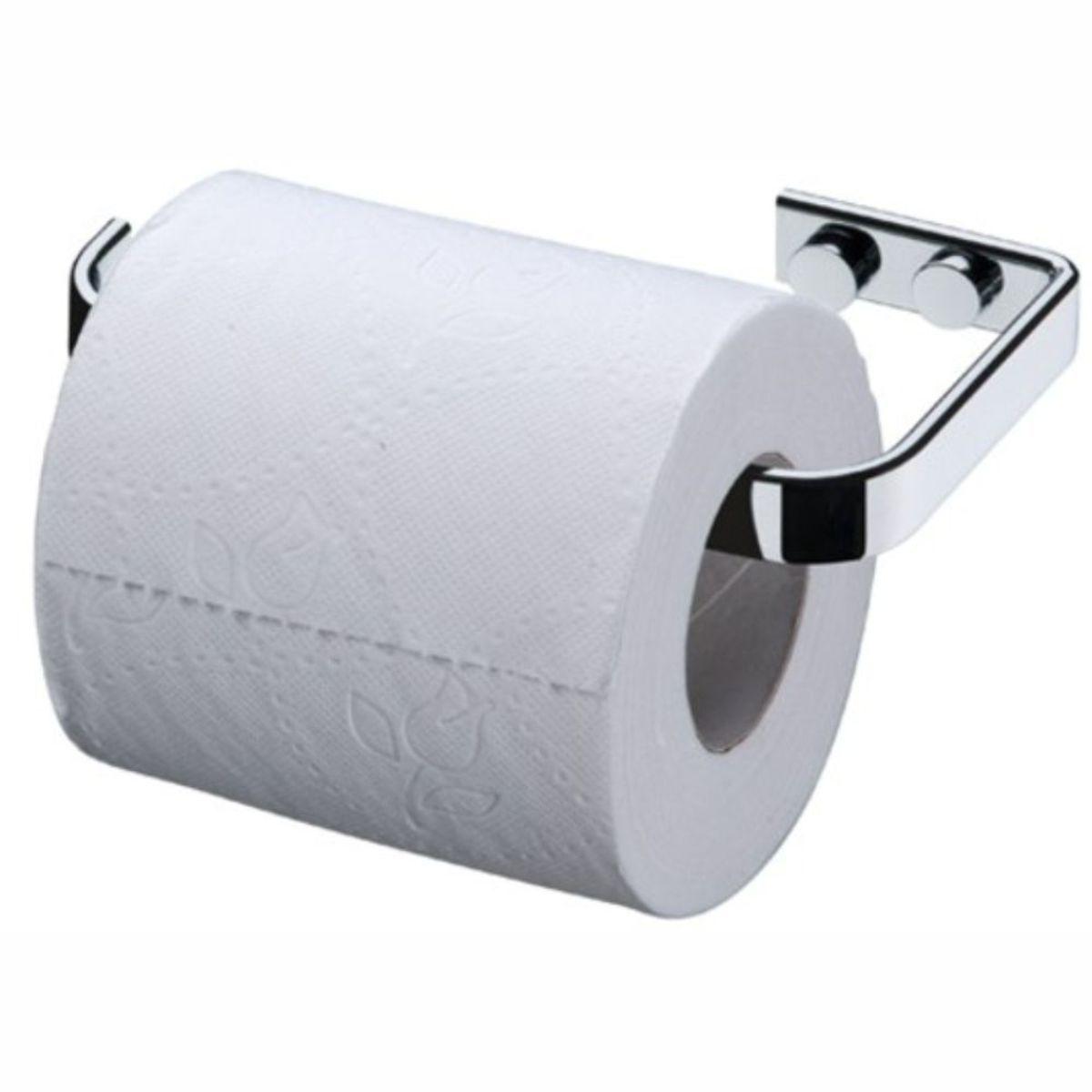 Kit Suportes Banheiro 4 Peças Cabide Papeleira Toalheiros