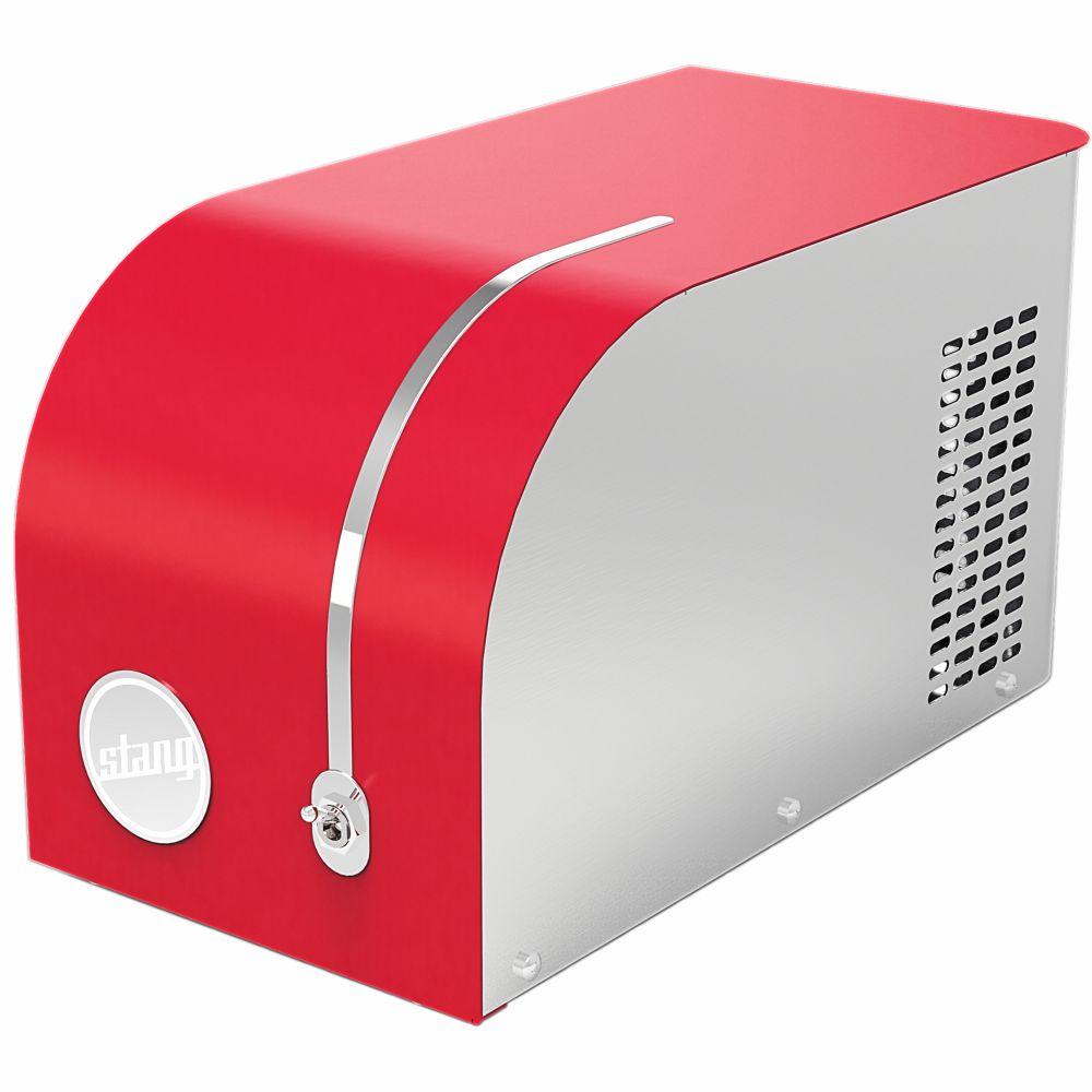 Laminador Elétrico Multiuso Para Todos Os Tipos De Massas - Vermelho