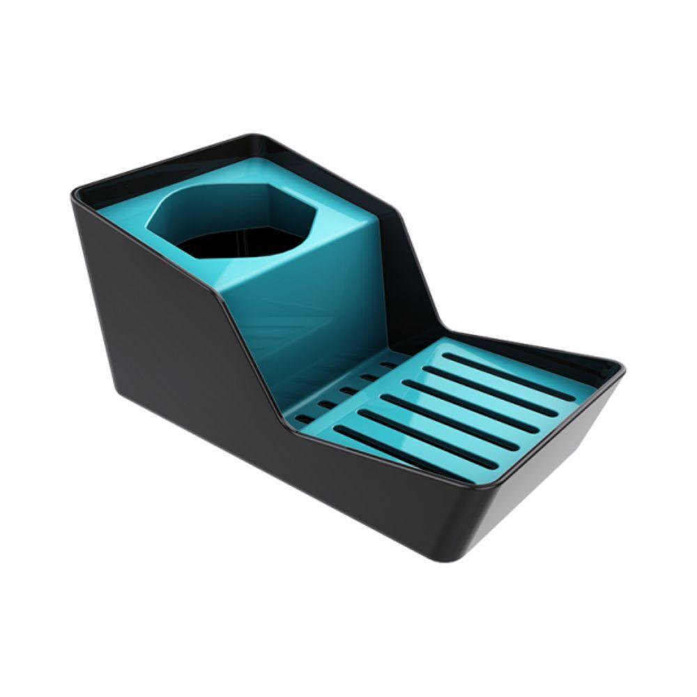 Lixeira 5 Litros Cozinha Porta Detergente Esponja Sobre Pia