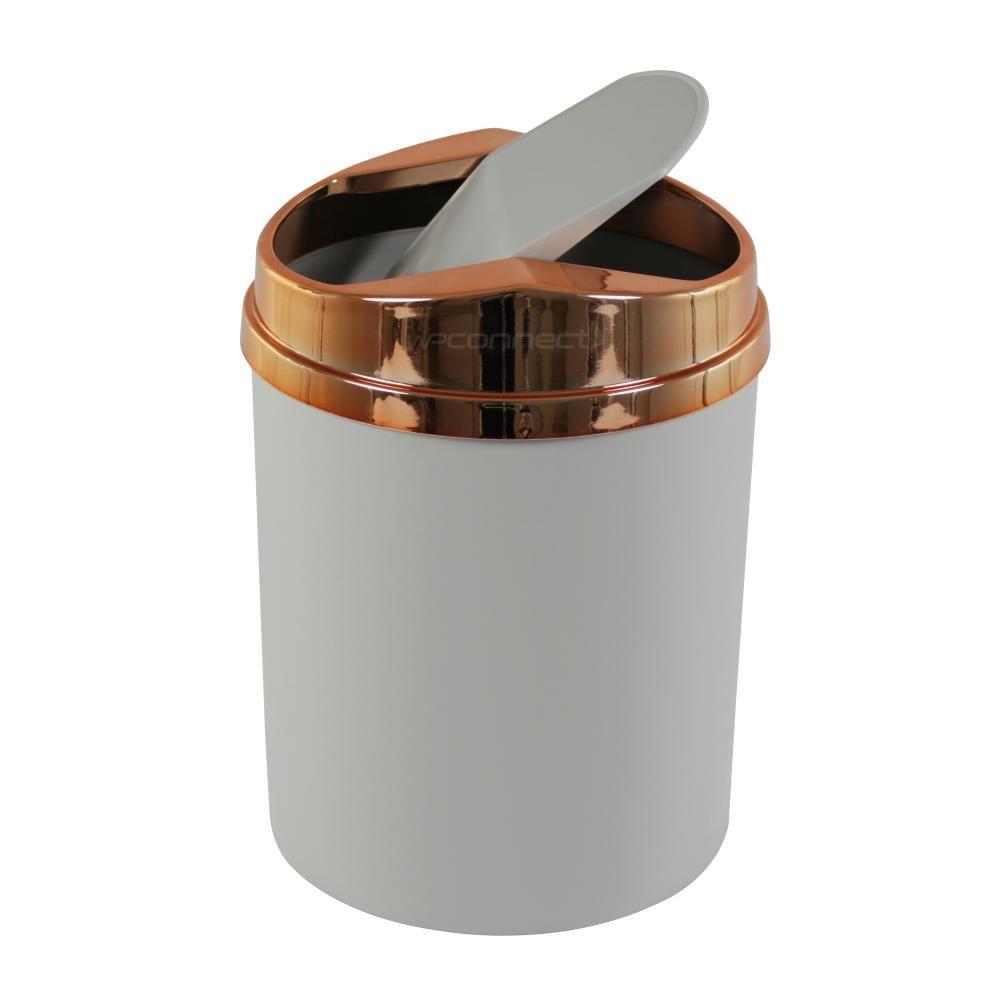 Lixeira Cesto 5 Litros Compacta Basculante Pia Cozinha