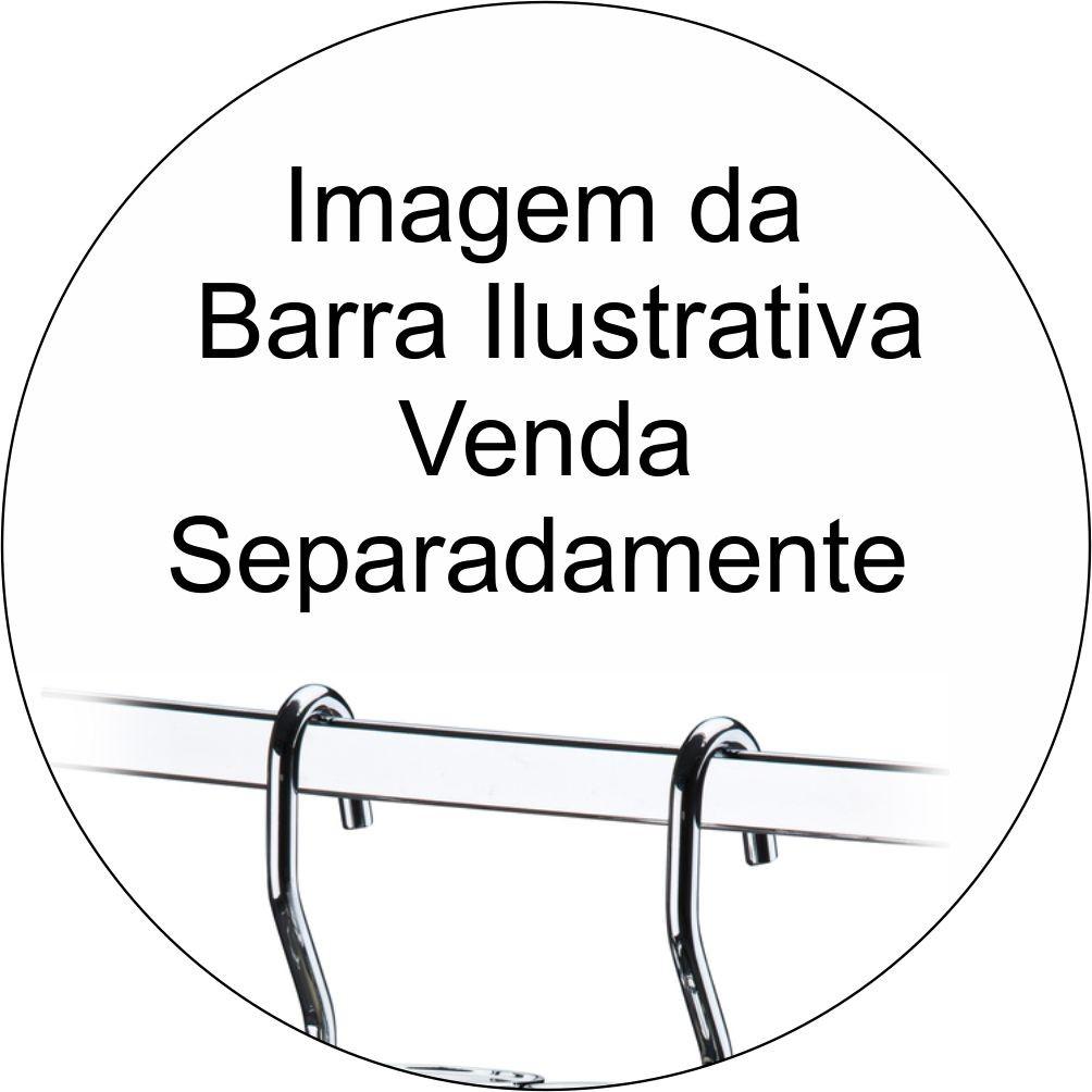 Lixeira Preta 2,5L com Suporte  +Saleiro Branco com Suporte