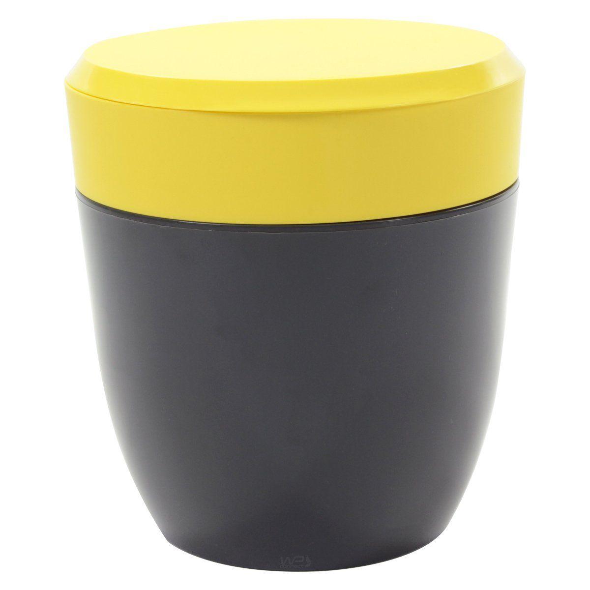 Lixeira Redonda 2,5L Compacta Para Pia Cozinha