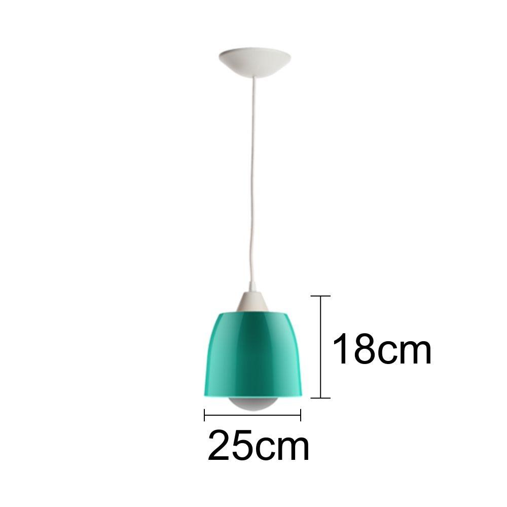Luminária de Teto Picasso Sala/Dormitório - Esmeralda