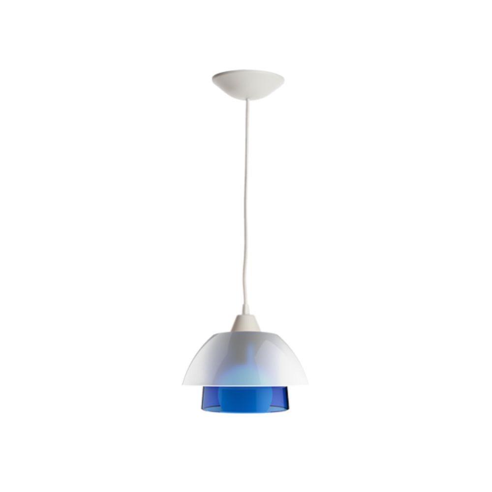 Luminária de Teto Tarsila Azul Translúcido Para Casa
