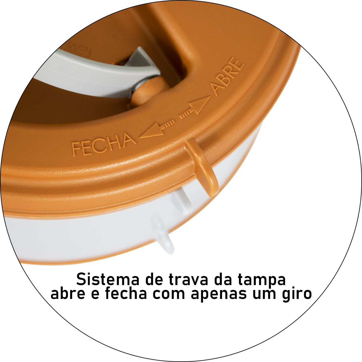 Marmita Térmica 3,6 Litros 2 Pratos Removíveis com Alça