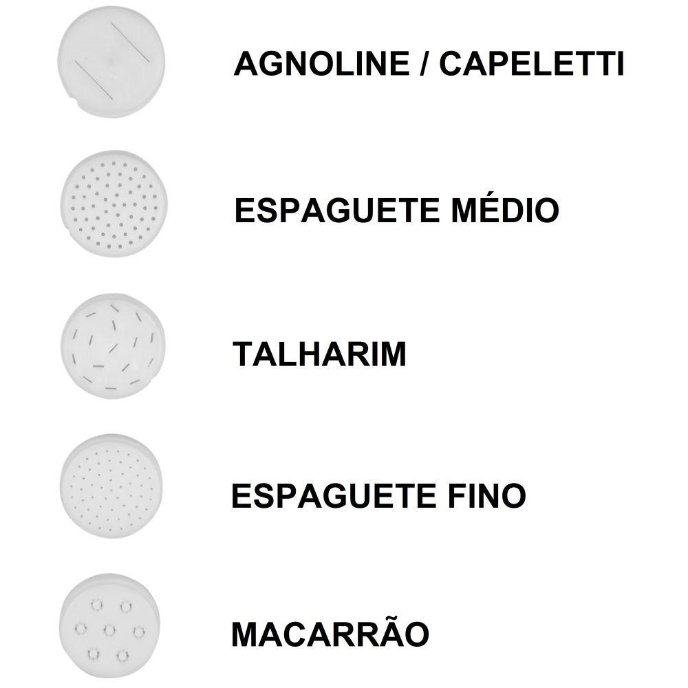 Moedor E Extrusor De Carne Elétrico - Preto